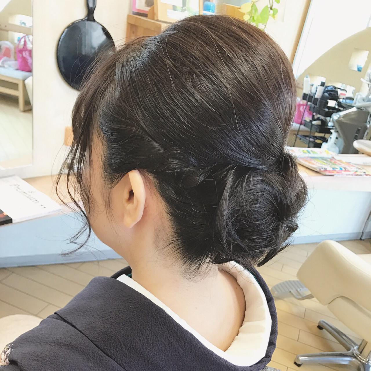 ヘアアレンジ ボブ エレガント 上品 ヘアスタイルや髪型の写真・画像