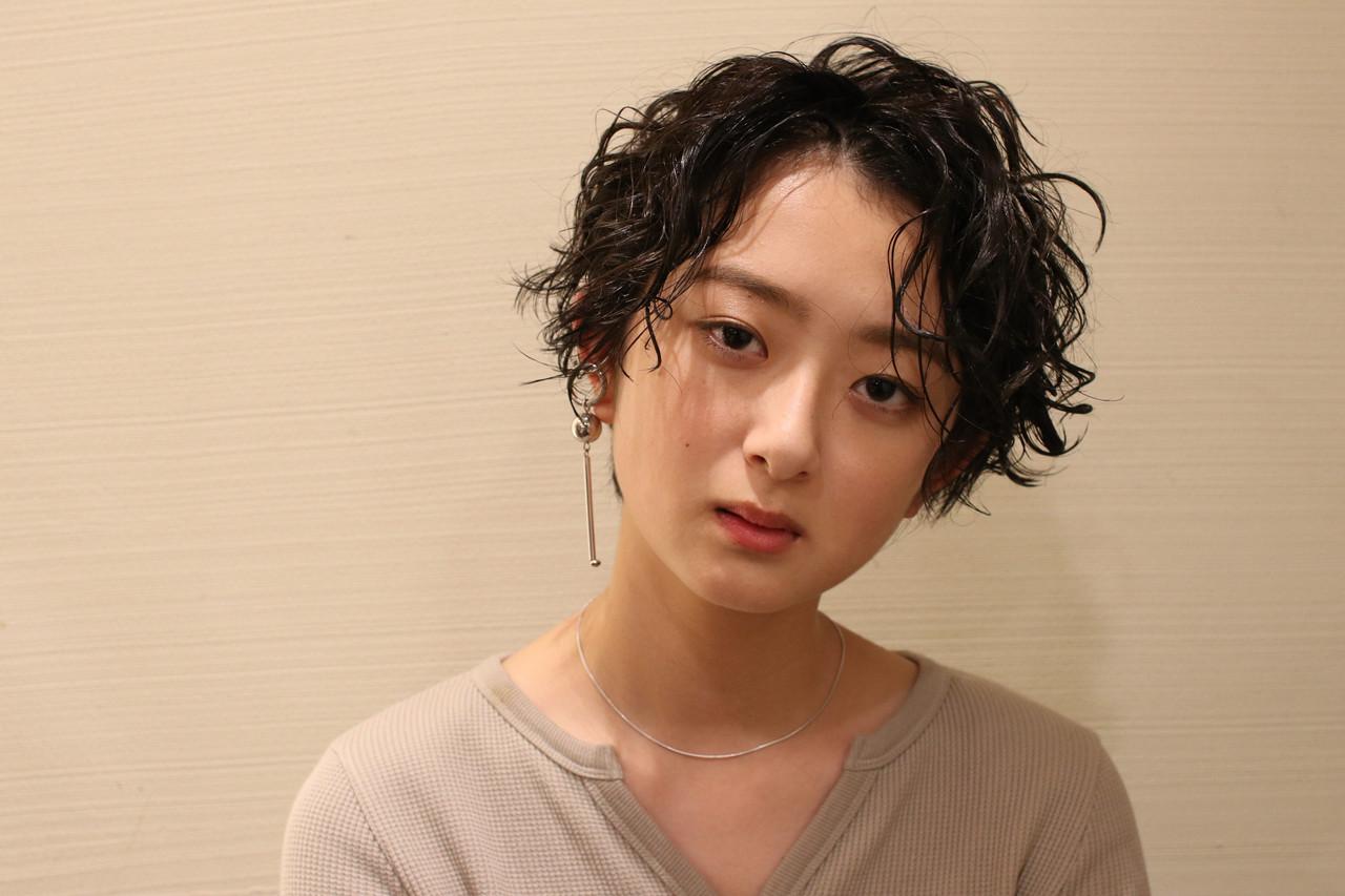 ふんわりウェーブのアンニュイショート katayama yuma