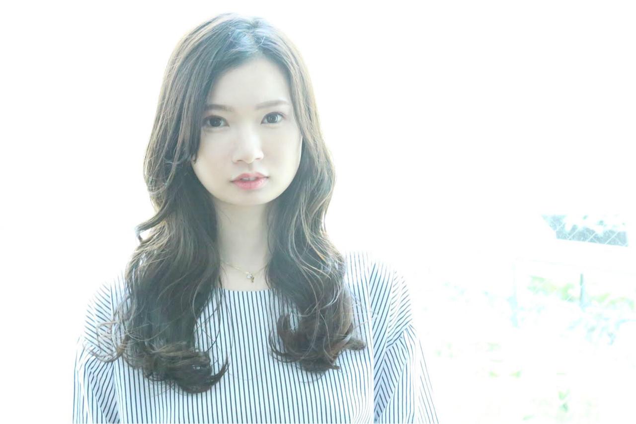 ナチュラルでフェミニンなロング kiyoshi コハラ ヨシユキ  Hair and Make kiyoshi