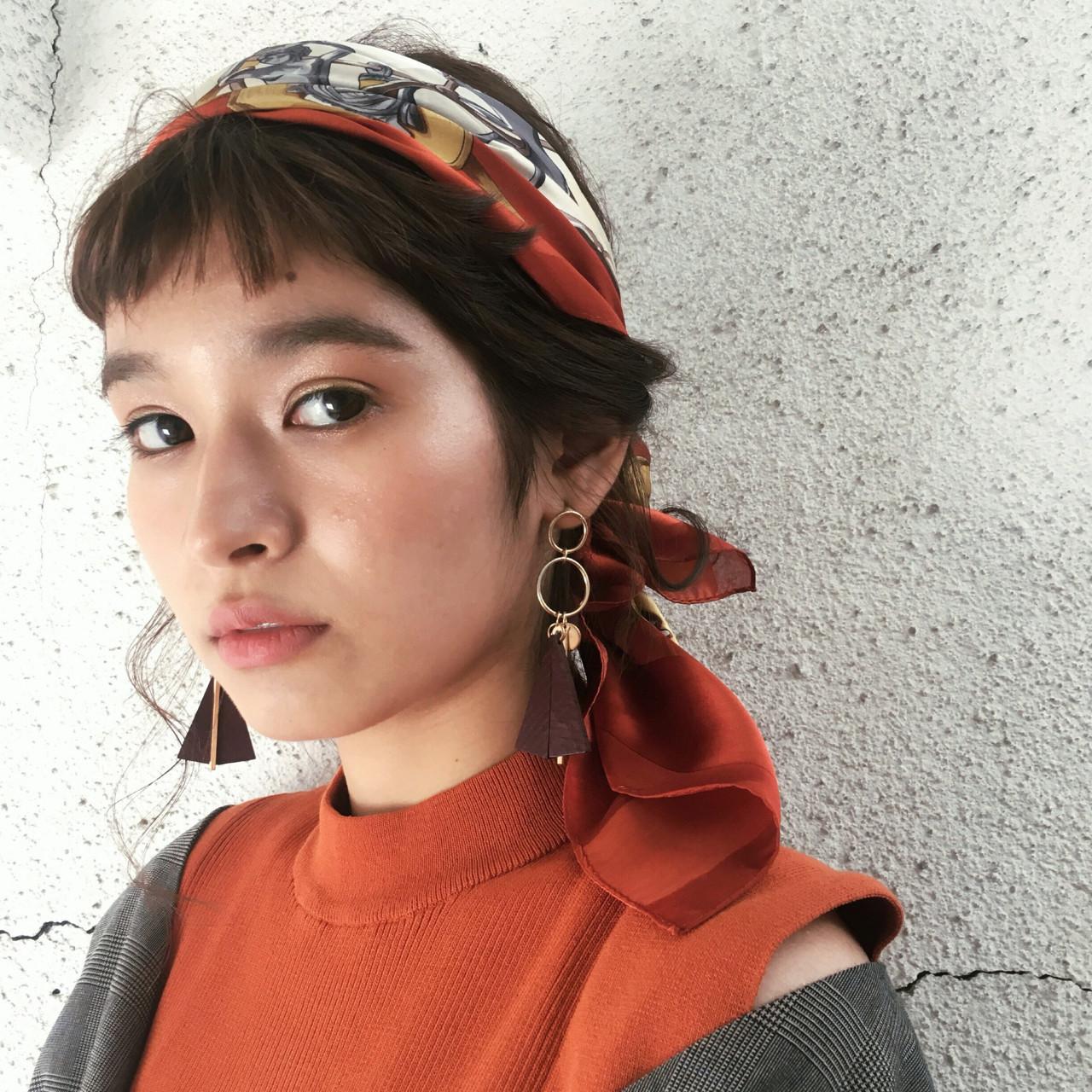 シンプルで可愛いモードアレンジ 谷口 翠彩  QUEEN'S GARDEN by k-two GINZA