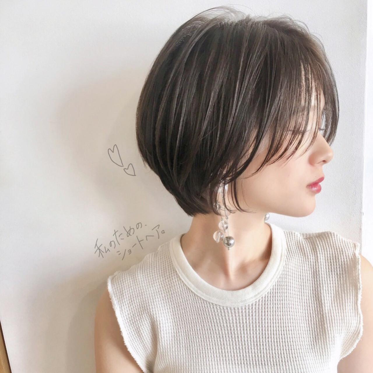 第1位!横顔も美しいショートヘア(山内大成/『 i. 』 omotesando) ショートボブの匠【 山内大成 】『i.hair』『 i. 』 omotesando
