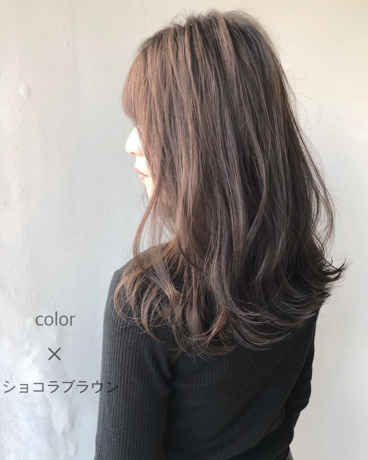 ダメージレス ナチュラル ツヤ髪 ロング ヘアスタイルや髪型の写真・画像