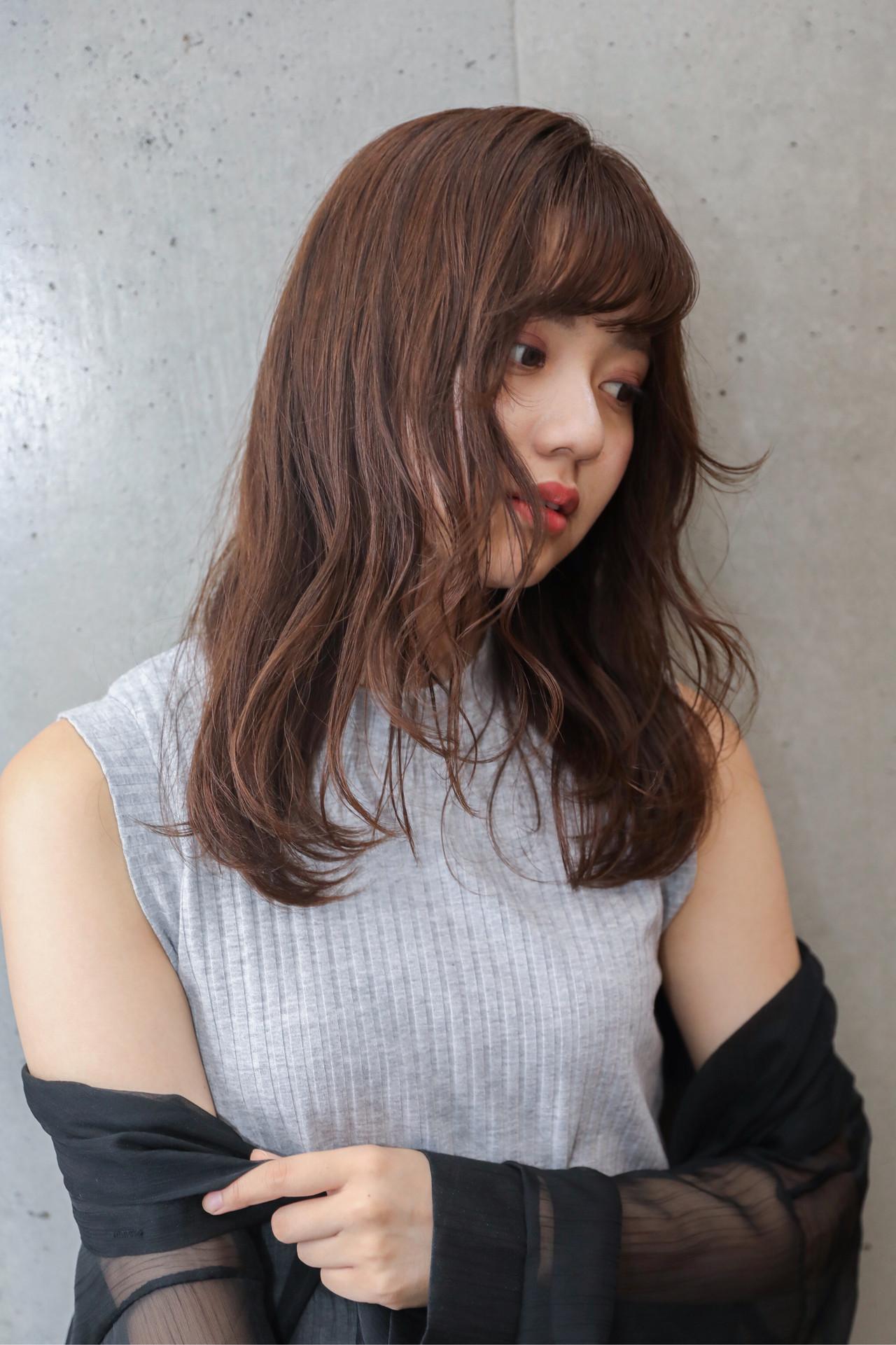 ショコラブラウン ナチュラル ブラウン アッシュブラウン ヘアスタイルや髪型の写真・画像