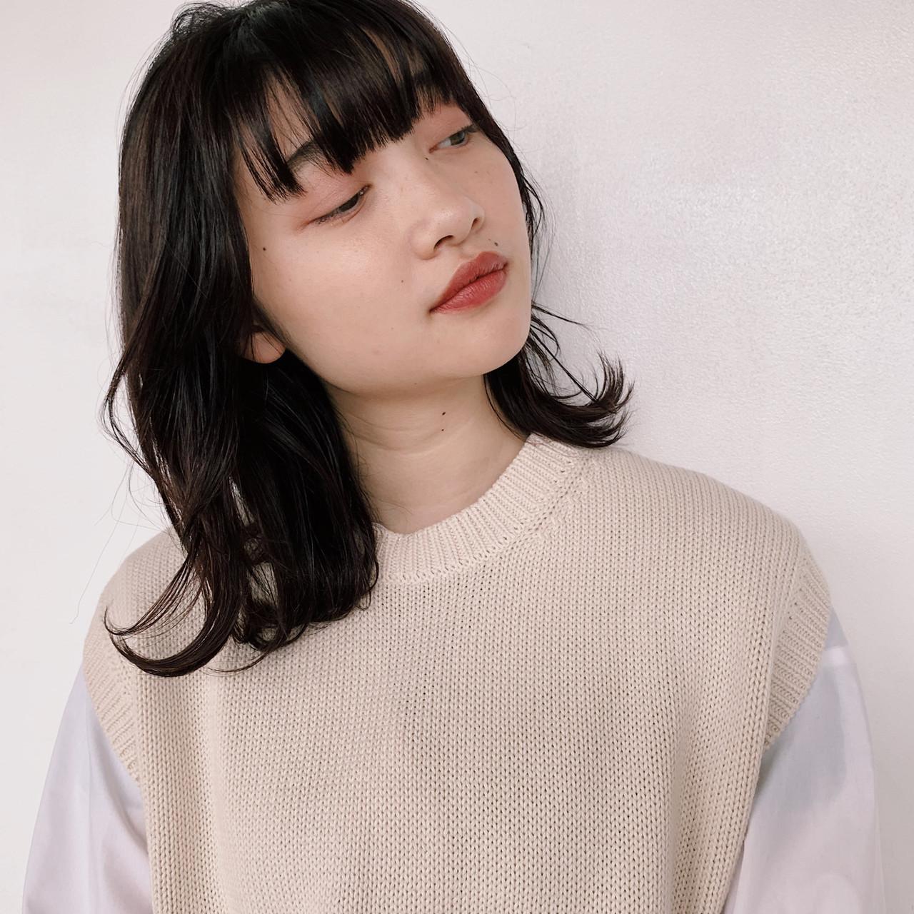 ピュア 成人式 暗髪 コンサバ ヘアスタイルや髪型の写真・画像