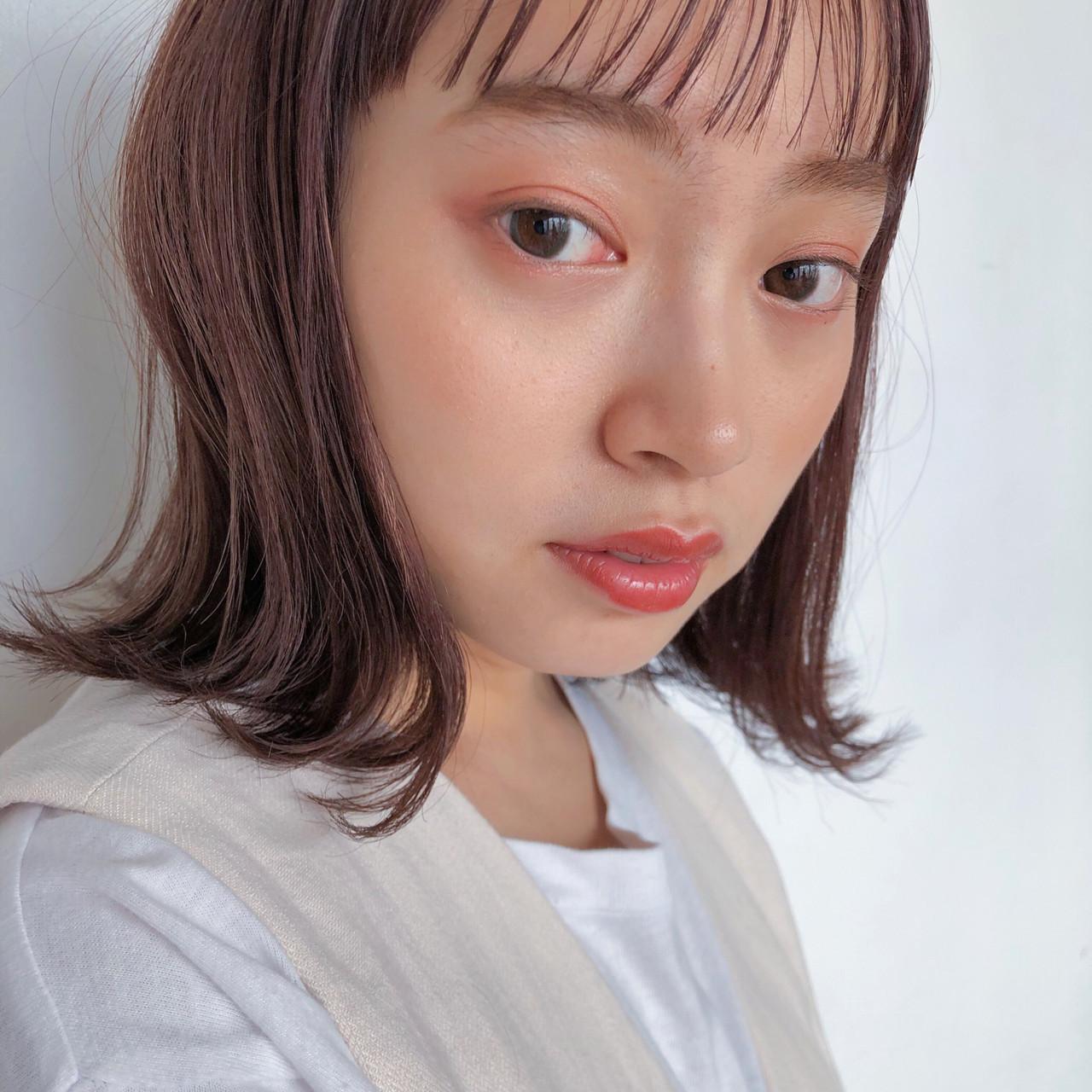 ナチュラルに可愛くなれるフェミニンなブラウンカラー(塩見/GARDEN harajuku) GARDEN harajuku 塩見GARDEN harajuku
