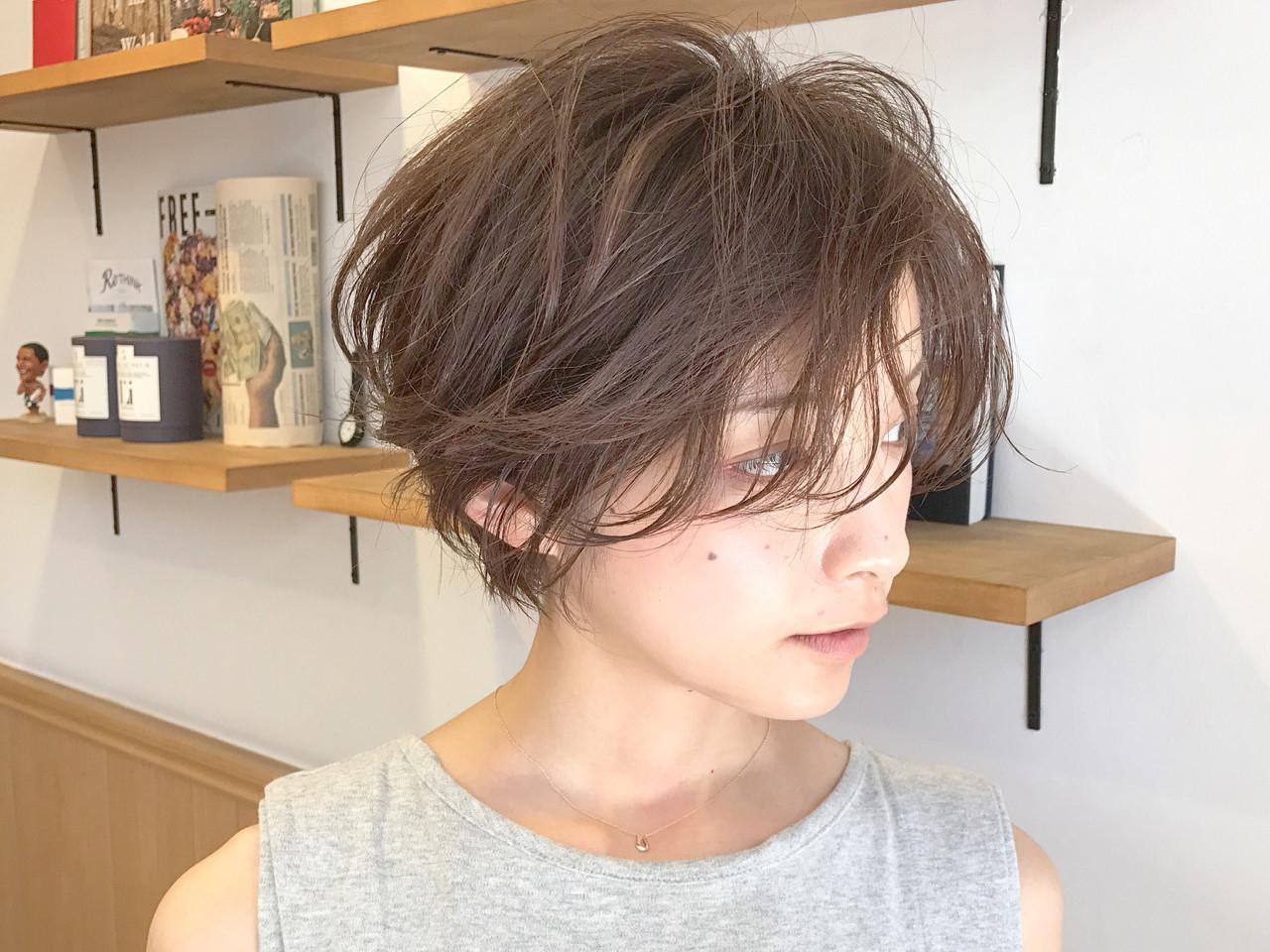 40代向けショートヘアで上品さと可愛さのどっちもGET♡