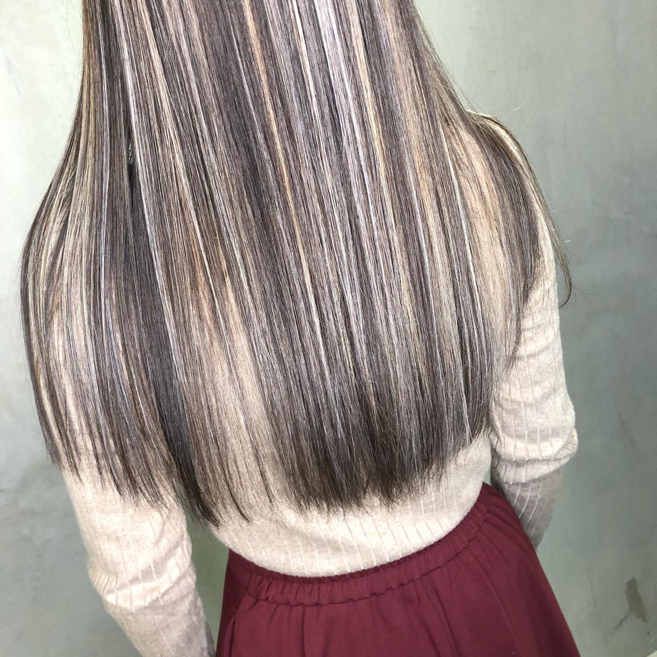 グラデーションカラーで色の変化を楽しむ 筒井 隆由Hair salon mode