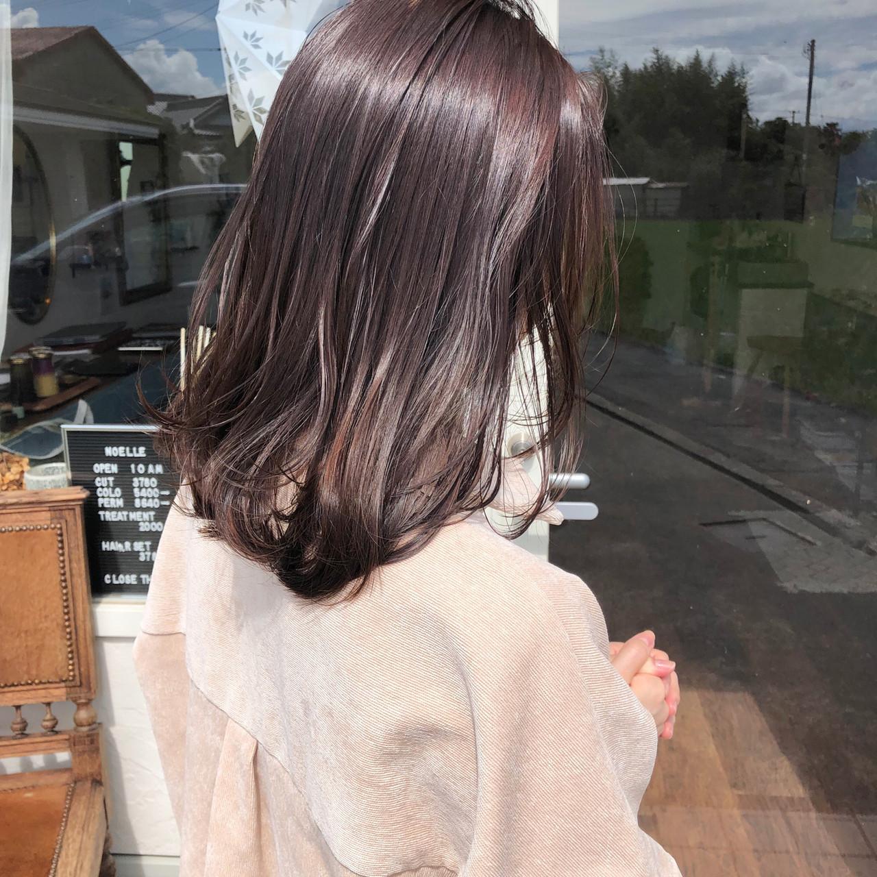 上品な色味!ほんのり色づくピンクブラウン 川内道子 instagram→michiko_k