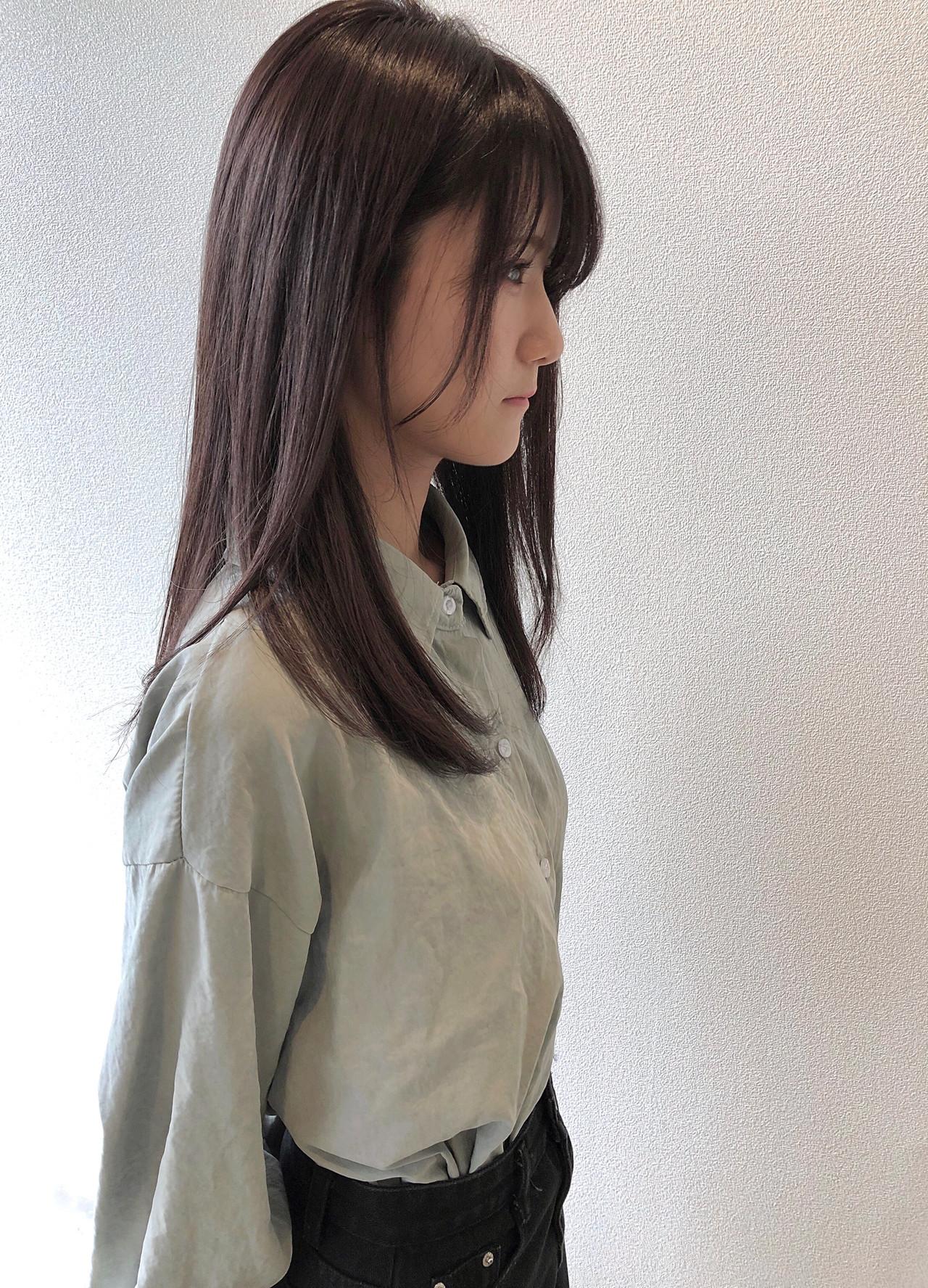 知的で清楚な美カラーのダークブラウン 田中 祐樹