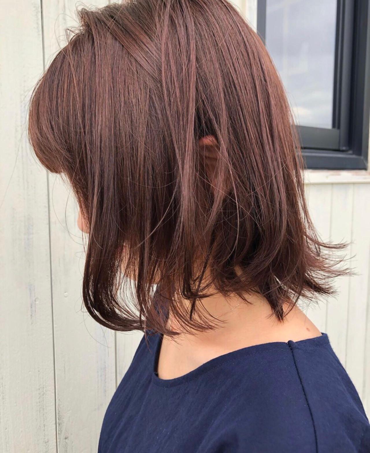 可愛らしいヴェールで髪を彩るピンクブラウン asaka