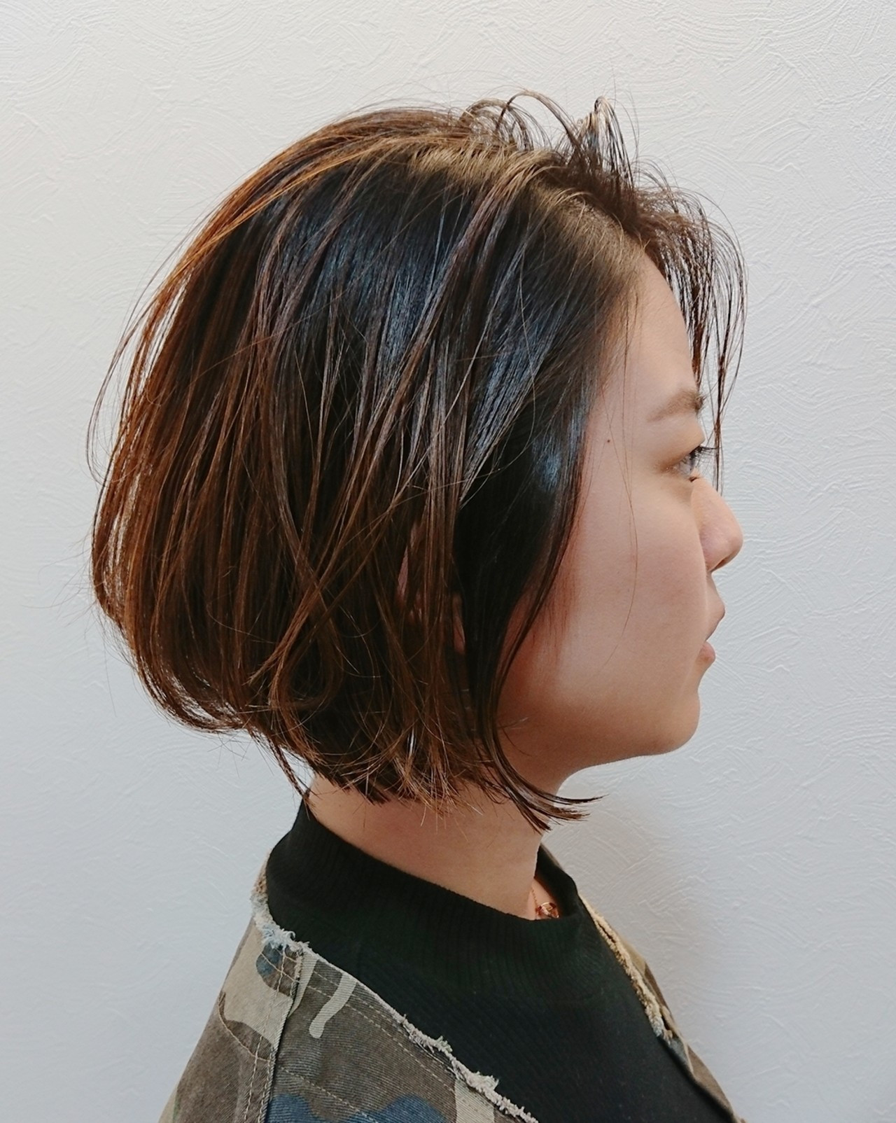ナチュラル ショートボブ ボブ 大人ショート ヘアスタイルや髪型の写真・画像