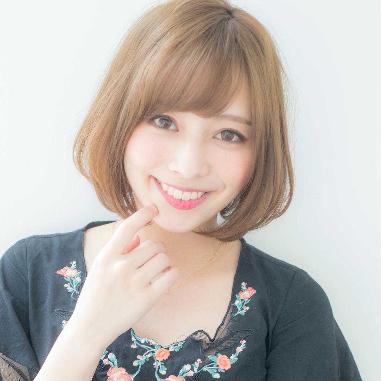より女の子らしく!前髪ありで最カワを狙う 山村 実和子✂️ Euphoria渋谷グランデ
