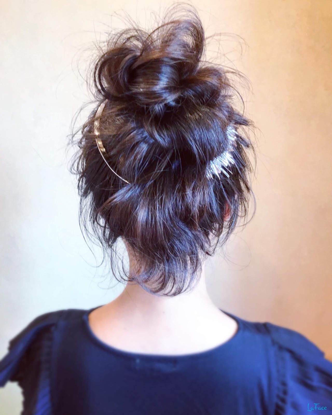 簡単ヘアアレンジ お呼ばれ ヘアアレンジ エレガント ヘアスタイルや髪型の写真・画像