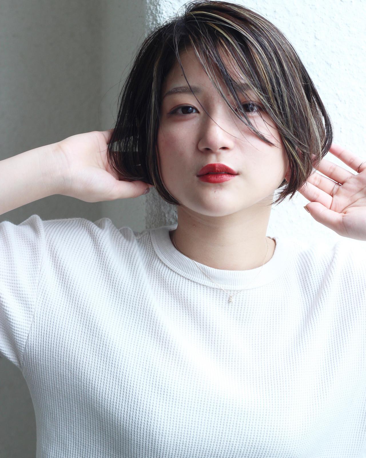 ベース顔さん×ショートボブのポイント 松田 和幸 / K.Y.A.