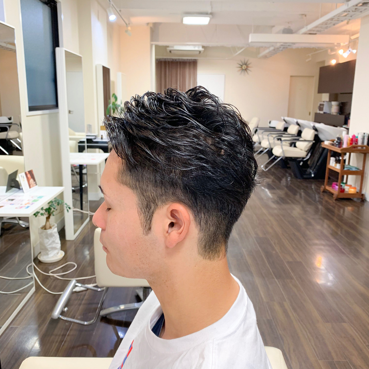 メンズヘア メンズショート メンズカット ナチュラル ヘアスタイルや髪型の写真・画像