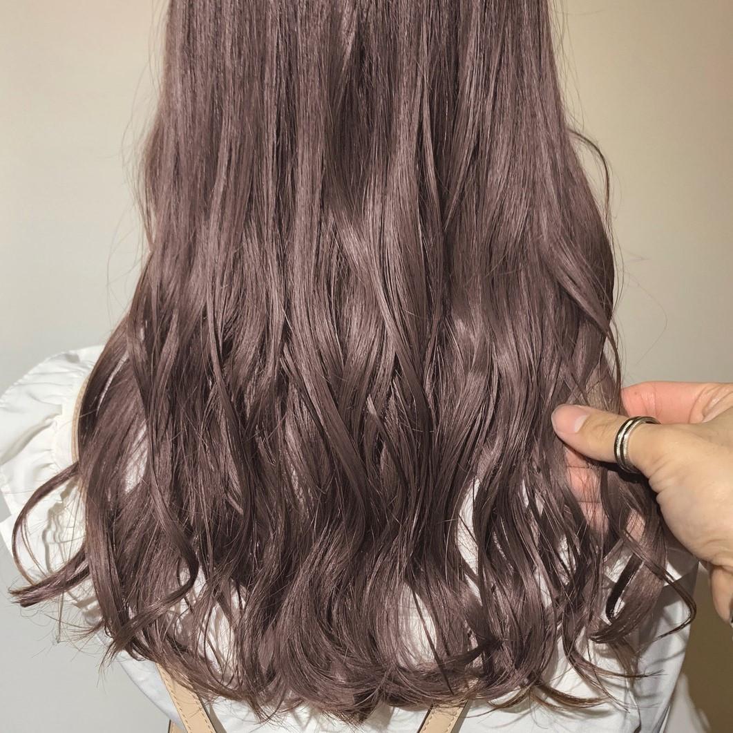 ショコラブラウンで清楚だけど重くない髪色に♪甘めカラーで優しい印象になれる!