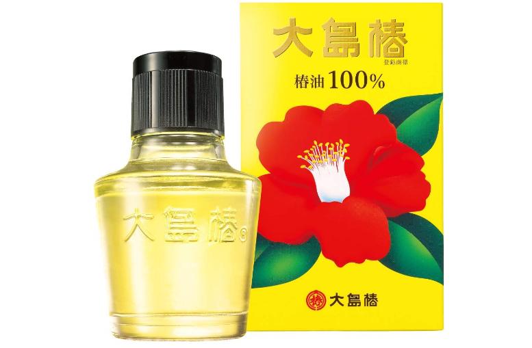 天然の椿油を100%使用した「大島椿」
