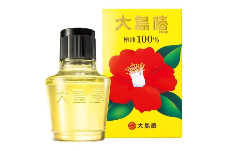 伝統の天然ツバキ油100%「大島椿」