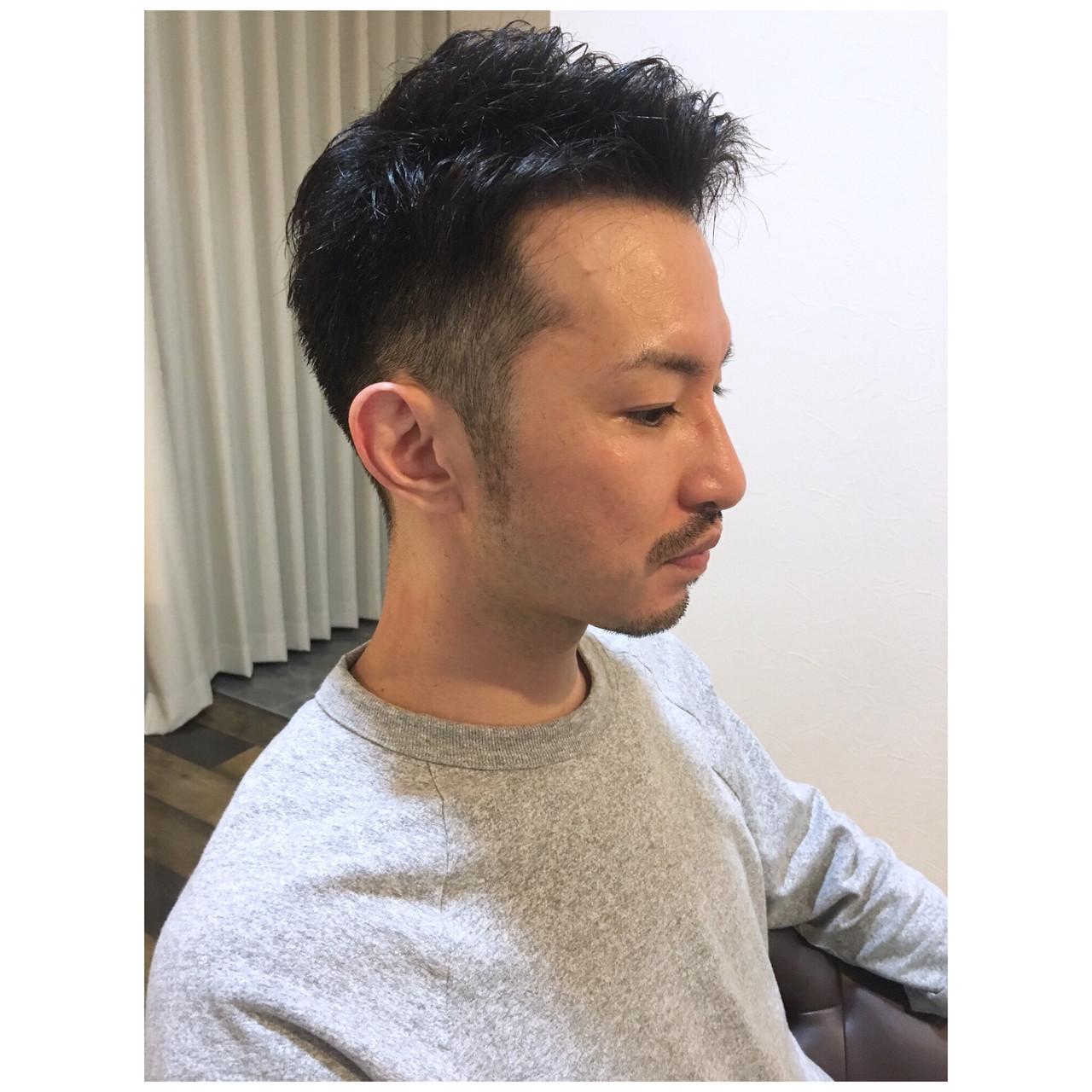 ナチュラル メンズカット 刈り上げショート ショート ヘアスタイルや髪型の写真・画像