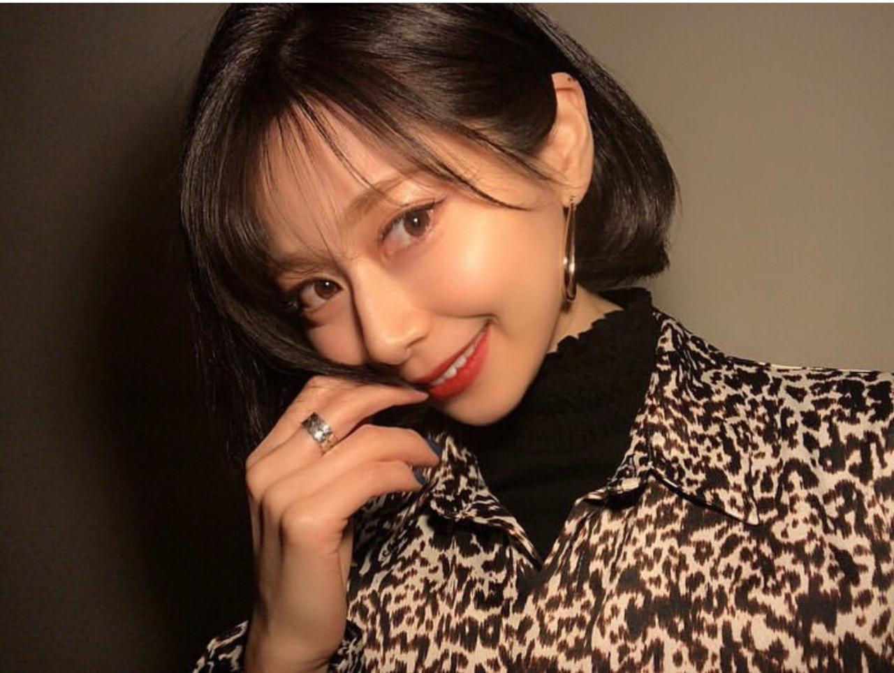 韓国風ヘアー 韓国 コリアンネイビー オルチャン ヘアスタイルや髪型の写真・画像