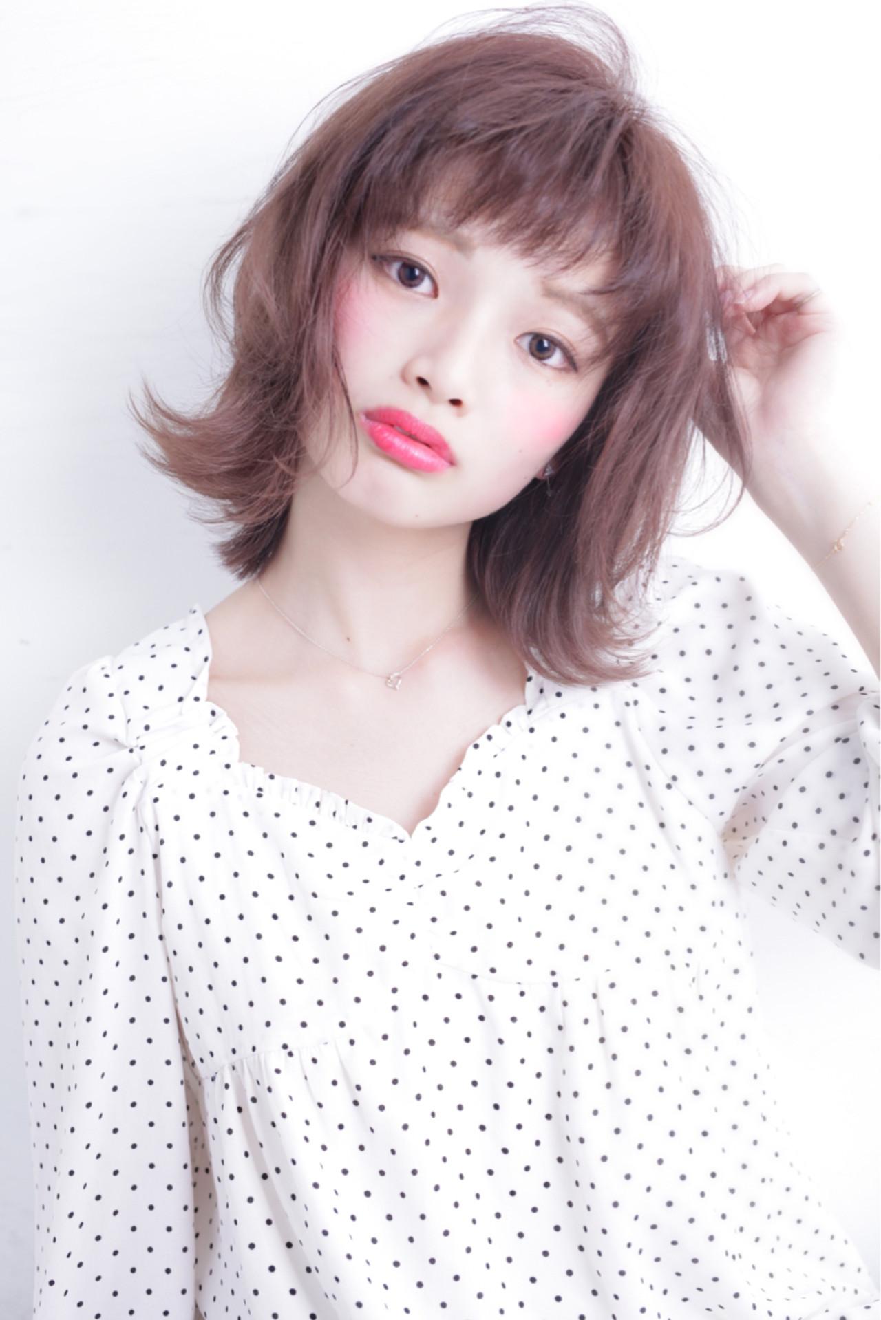 ガーリーにキメて♡おしゃれ女子のオン眉ぱっつん前髪 石田 学史