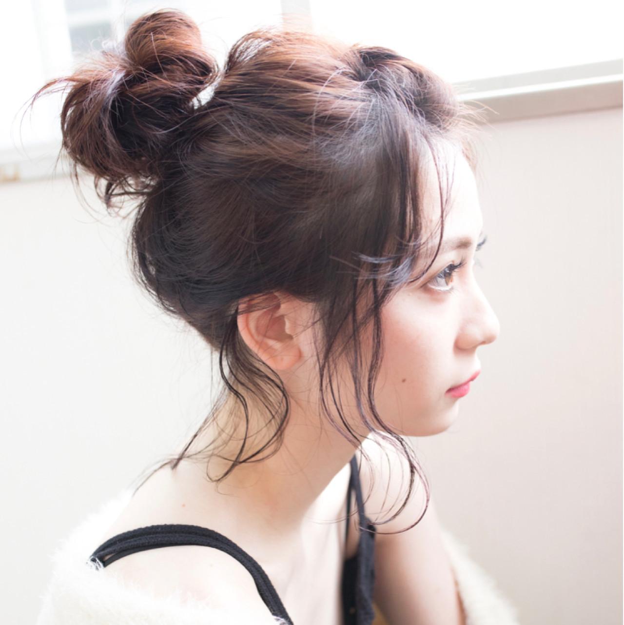 カジュアルゆるふわお団子アレンジ 伊藤 大樹