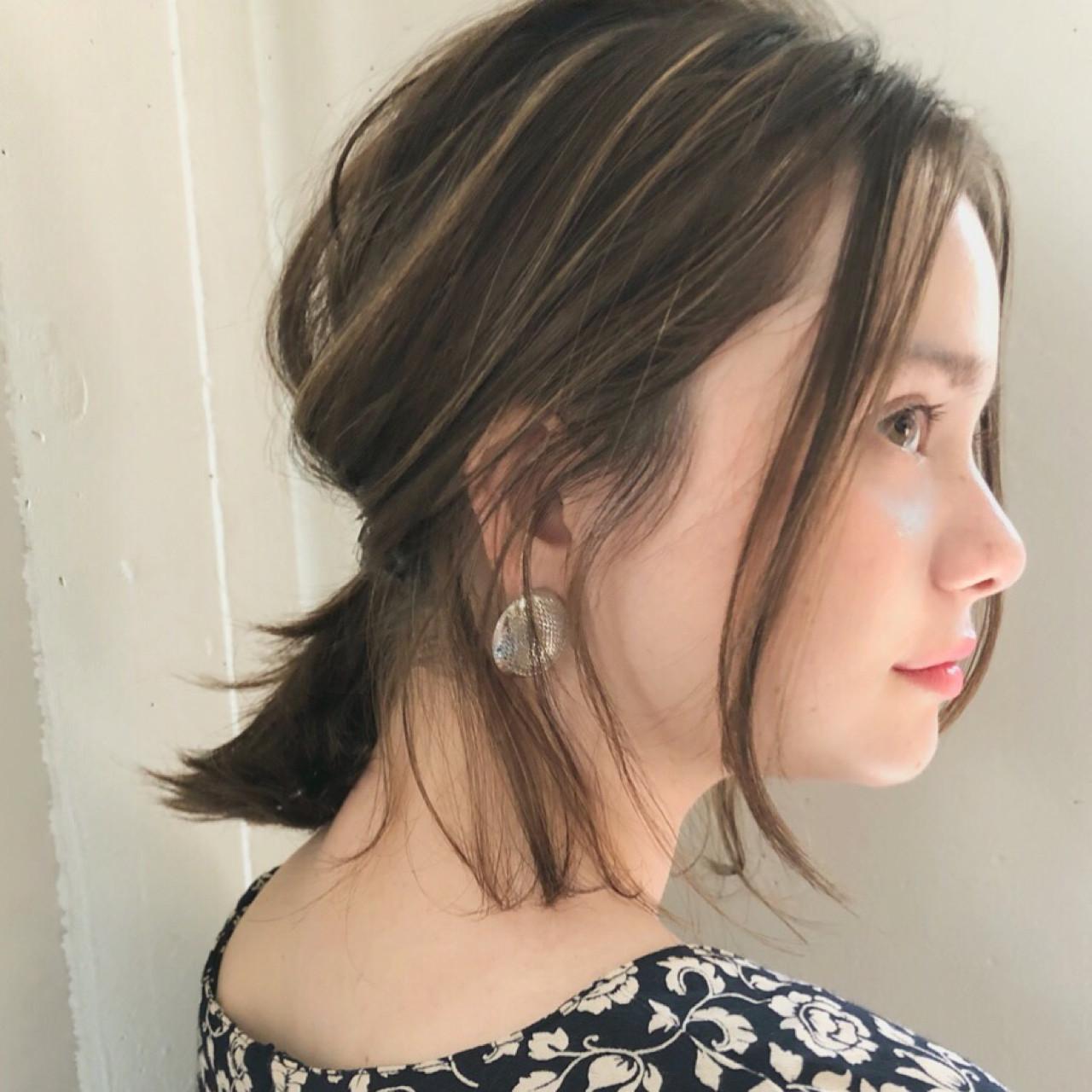 ガーリーゆるめの簡単アレンジ 中島 潮里 / whyte