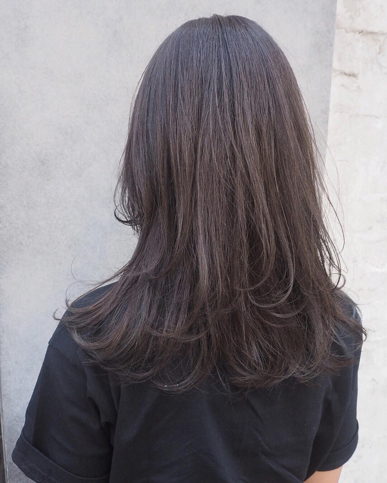 重いヘアも軽い見せ可能!プラスレイヤーロングヘア 宮迫 真美