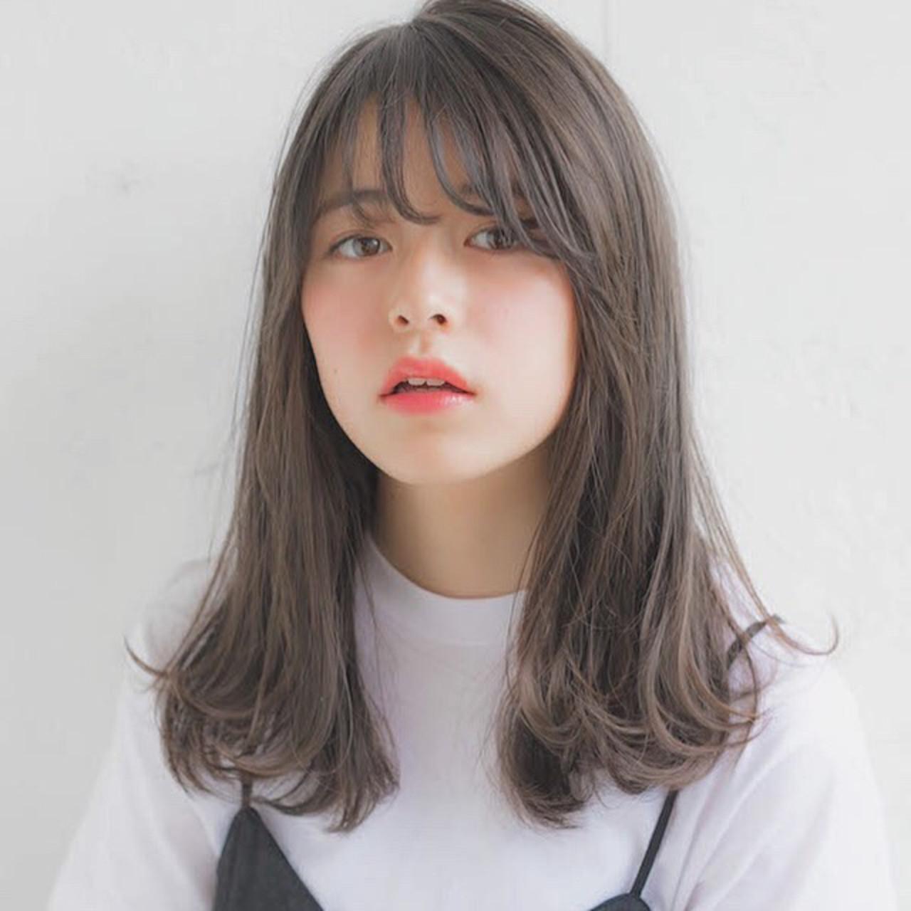 【セミロング】シースルー前髪で大人可愛く♡ 竹澤 優/relian銀座Top stylist