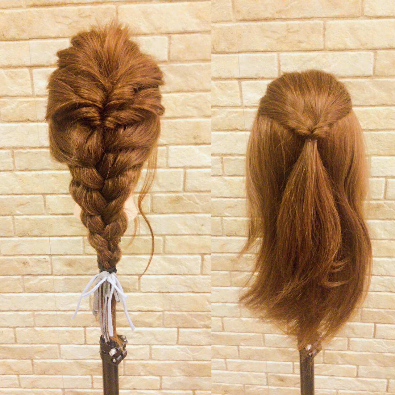 ヘアアレンジ デート ナチュラル 編み込み ヘアスタイルや髪型の写真・画像