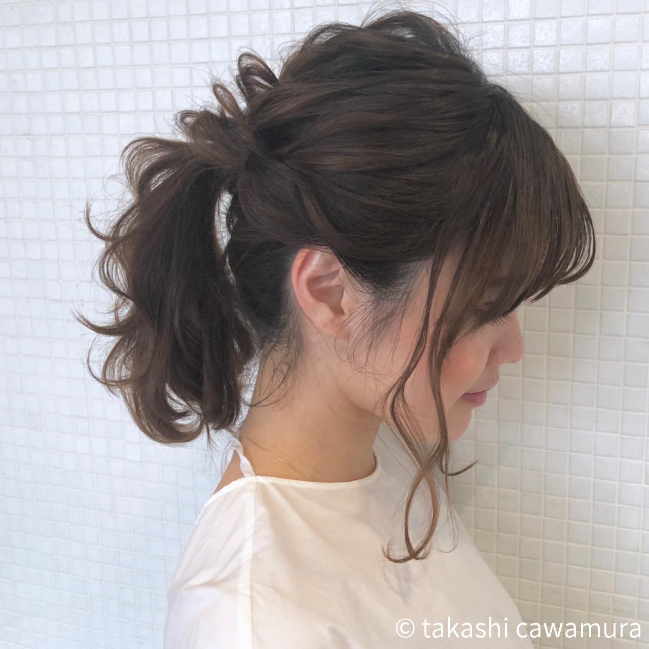 外ハネでカジュアルで軽やか takashi cawamura