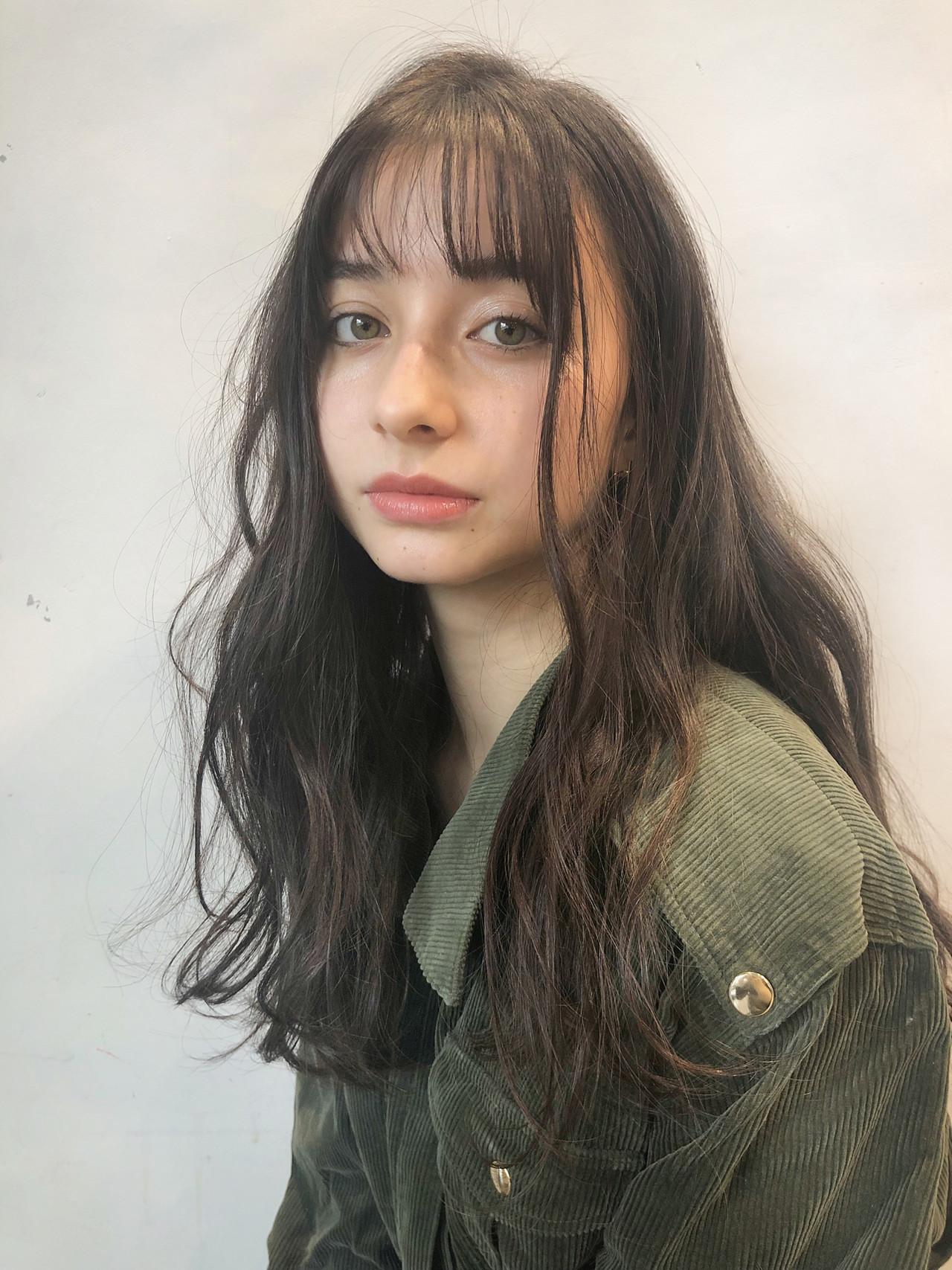 ナチュラル ロング 透明感 ヘアスタイルや髪型の写真・画像