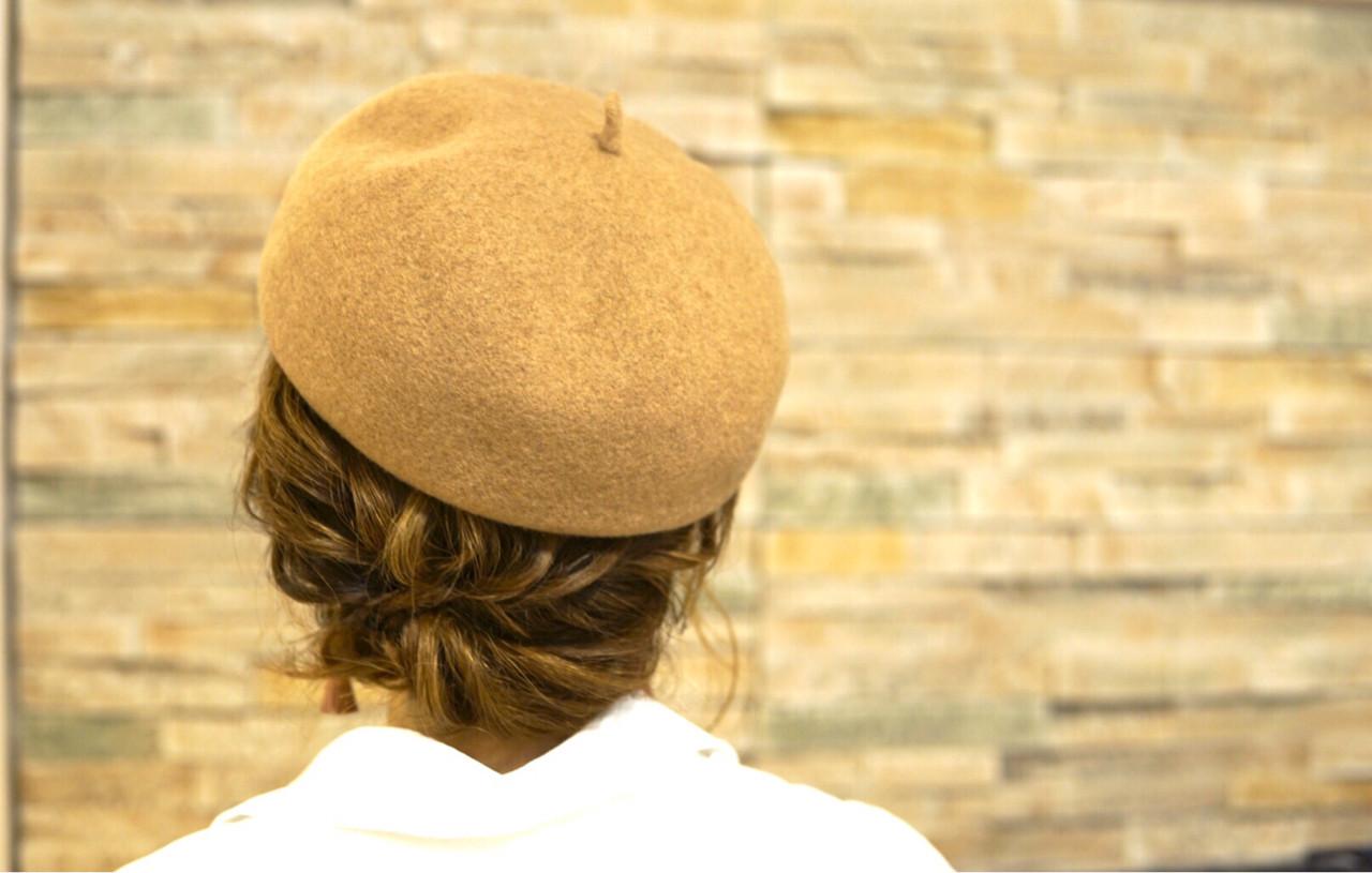 大人女子 トレンド ヘアアレンジ くるりんぱ ヘアスタイルや髪型の写真・画像
