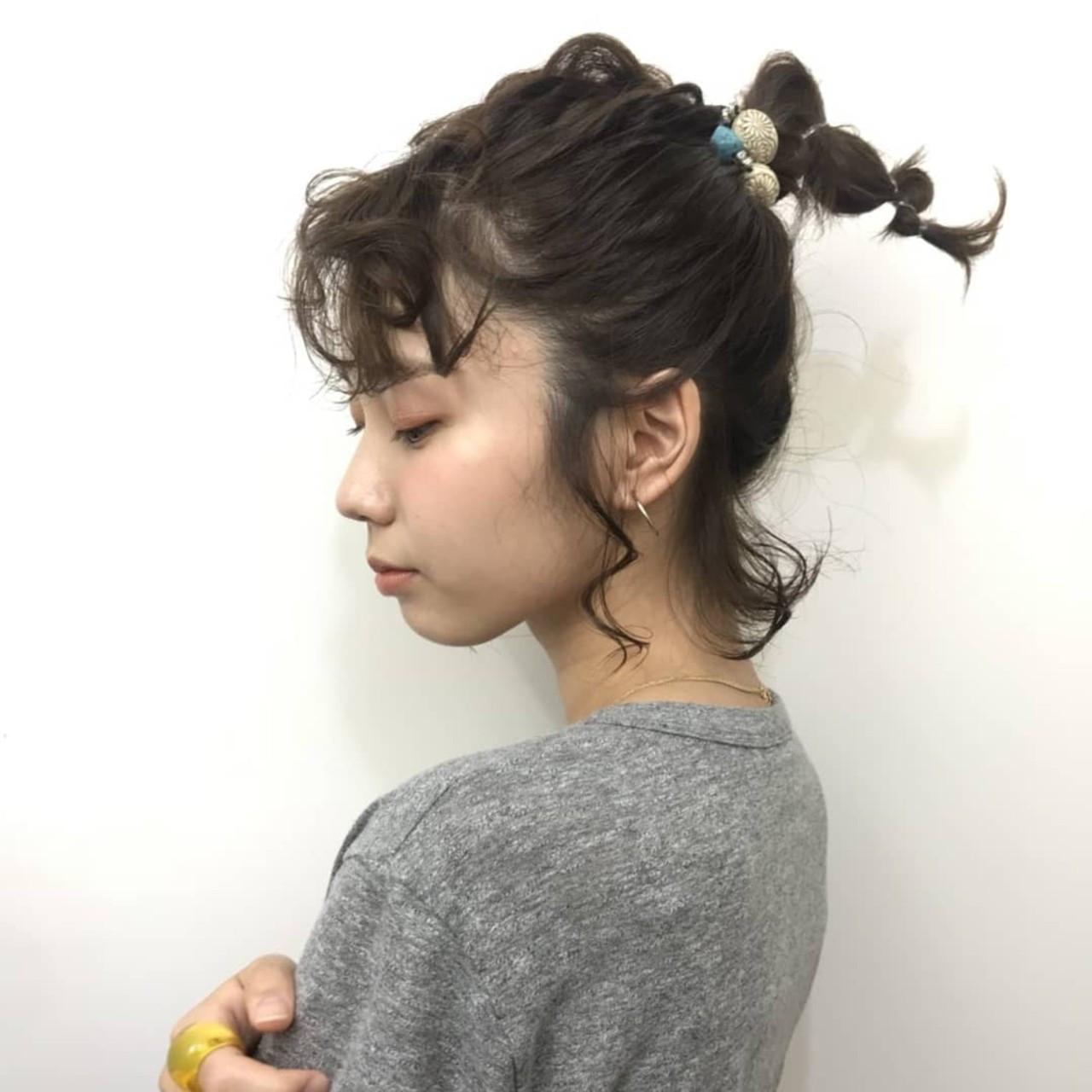 抜け感たっぷり一つ結びアレンジ 杉本侑菜 (すぎもと ありな)