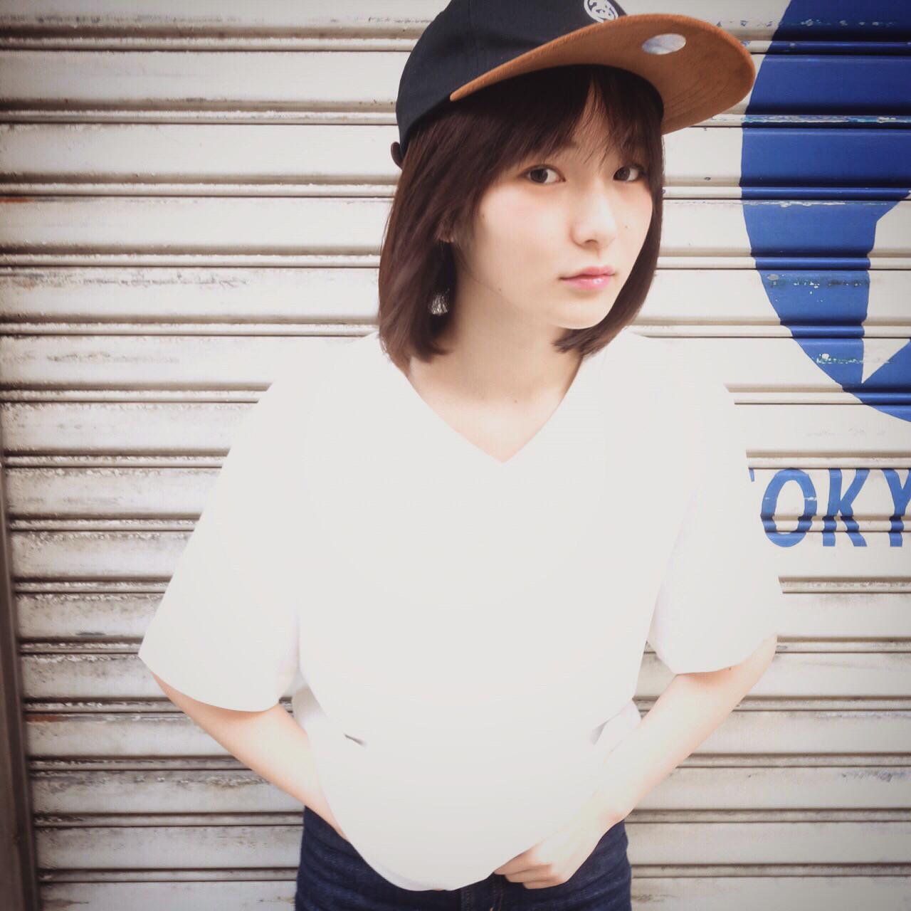 キャップや帽子で似合わせアレンジ♡もっとかわいく攻めちゃおう!