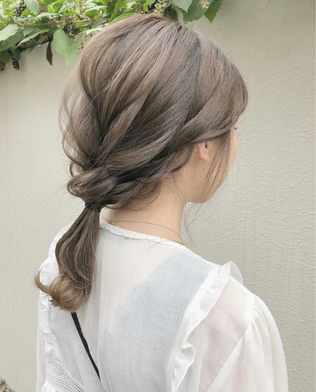 ミルクティーベージュ ミルクティー アッシュ グレージュ ヘアスタイルや髪型の写真・画像