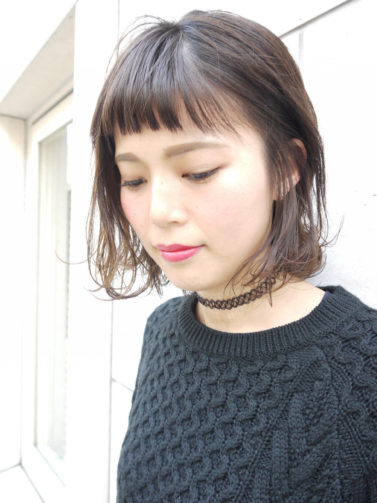 アンニュイな愛され小顔ショート Hiroki Sakuma【morio原宿】  モリオフロムロンドン原宿本店