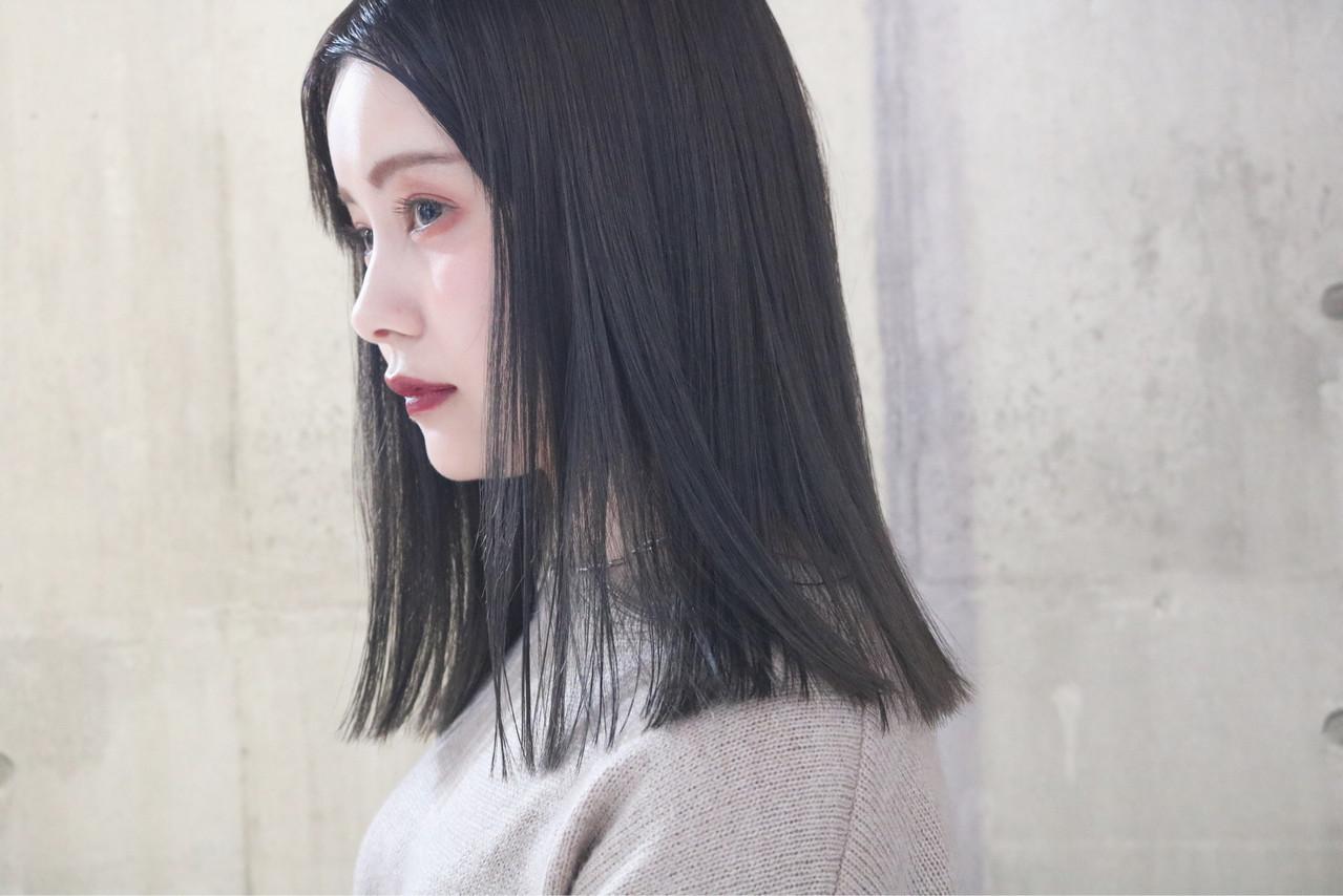 ストレート 大人女子 大人かわいい 外国人風 ヘアスタイルや髪型の写真・画像