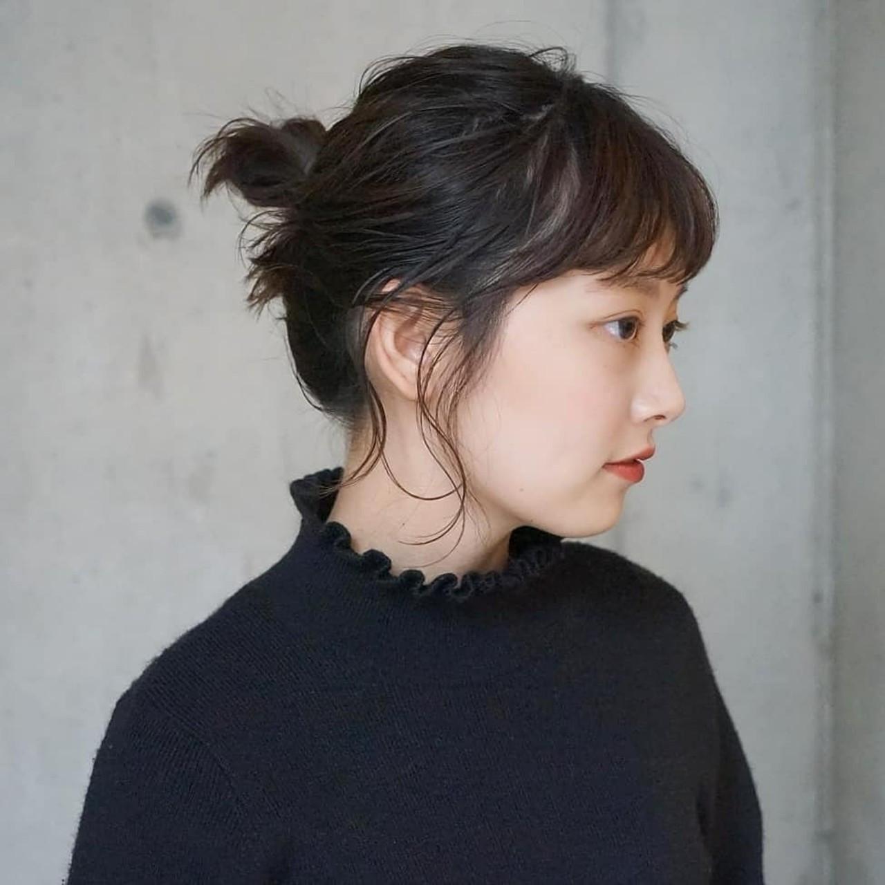 ラフ可愛い♡お団子アレンジ タカハシ アヤミ