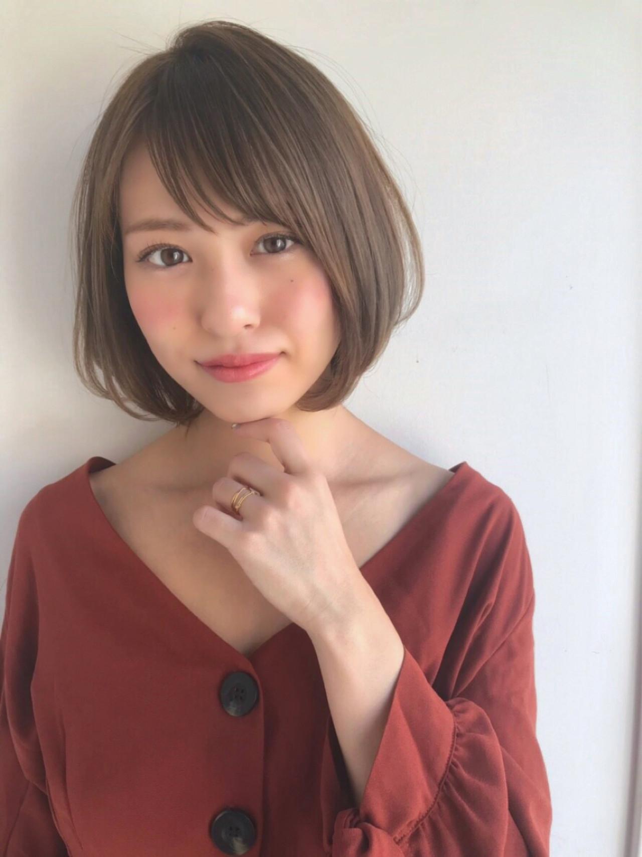右分けは「可愛らしい」印象 佐藤健太郎/GARDEN.Ramie