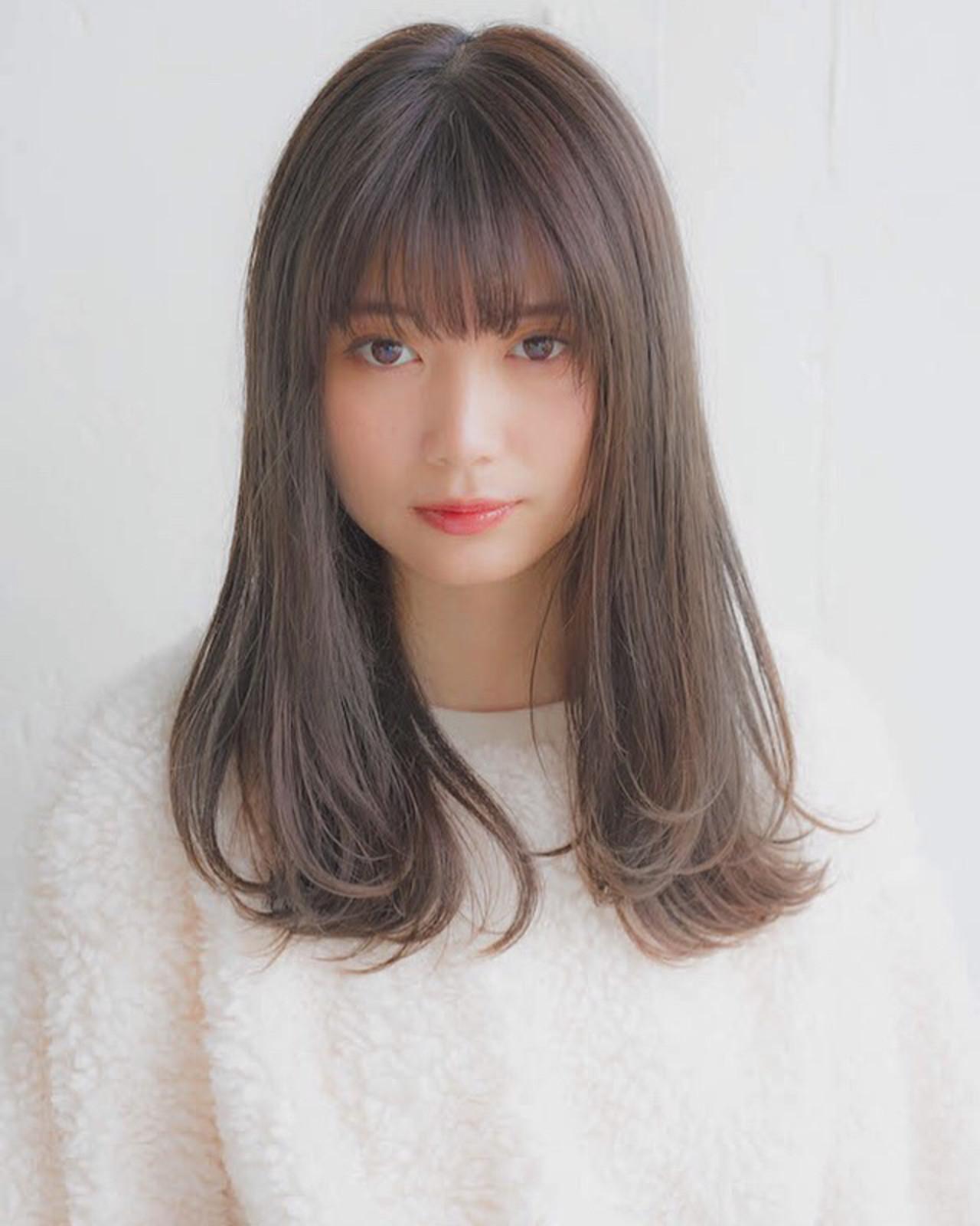 前髪ありは「可愛い」印象 竹澤 優/relian銀座Top stylist