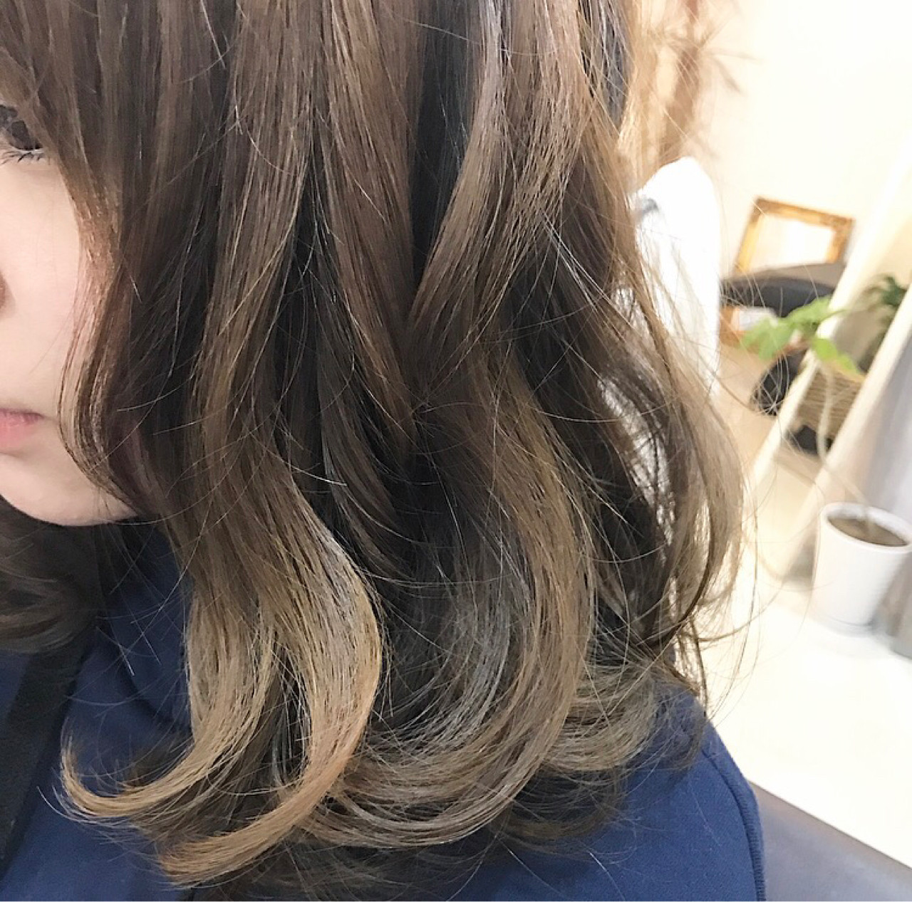 大人かわいい ミディアム ボブ 色気 ヘアスタイルや髪型の写真・画像
