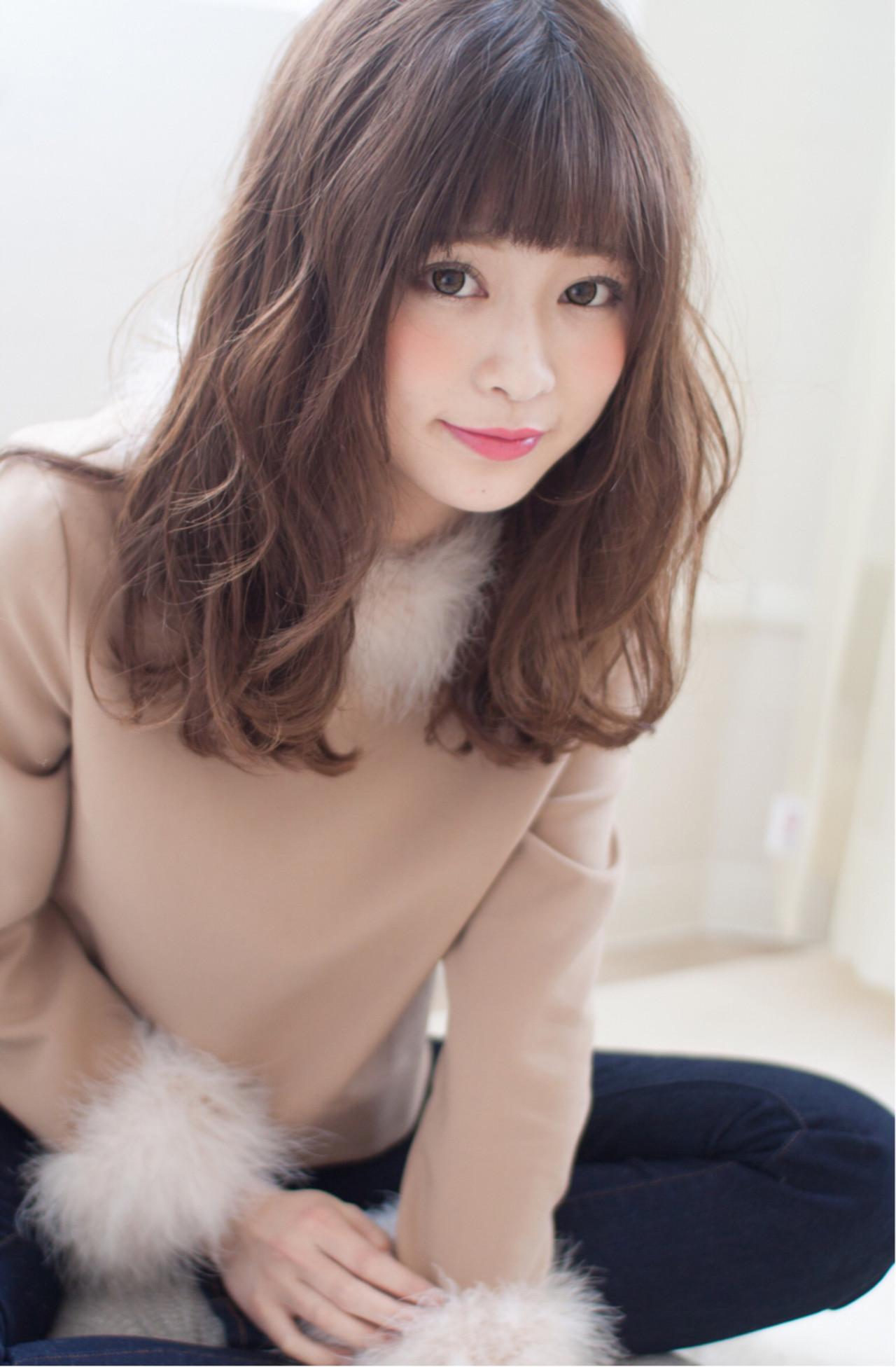 大人フェミニンに☆男ウケ満点モテ愛されヘア 今井 寛子