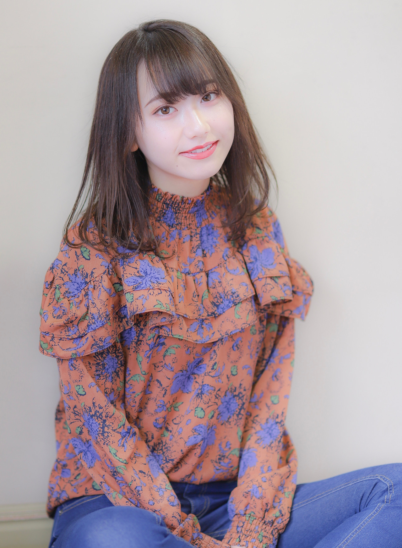 長めボブは透明感のある軽いスタイルがおすすめ Asuka Nagae