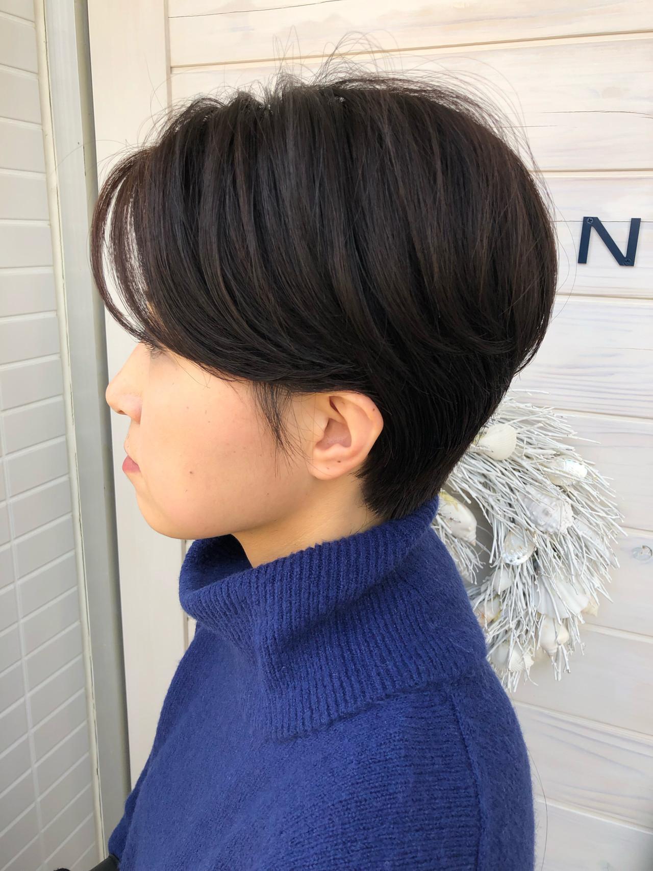 40代&50代にもおすすめなハンサムショートボブ 賀満洋行/OCEAN Hair&Life