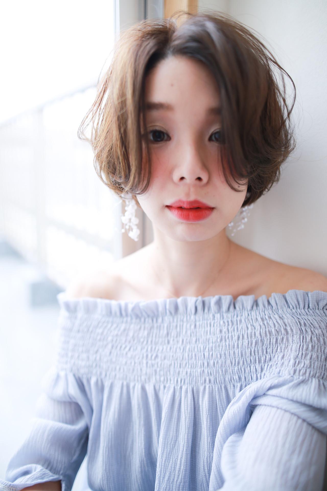 ゆるふわならハンサムショートヘアで☆ 賀満洋行/OCEAN Hair&Life