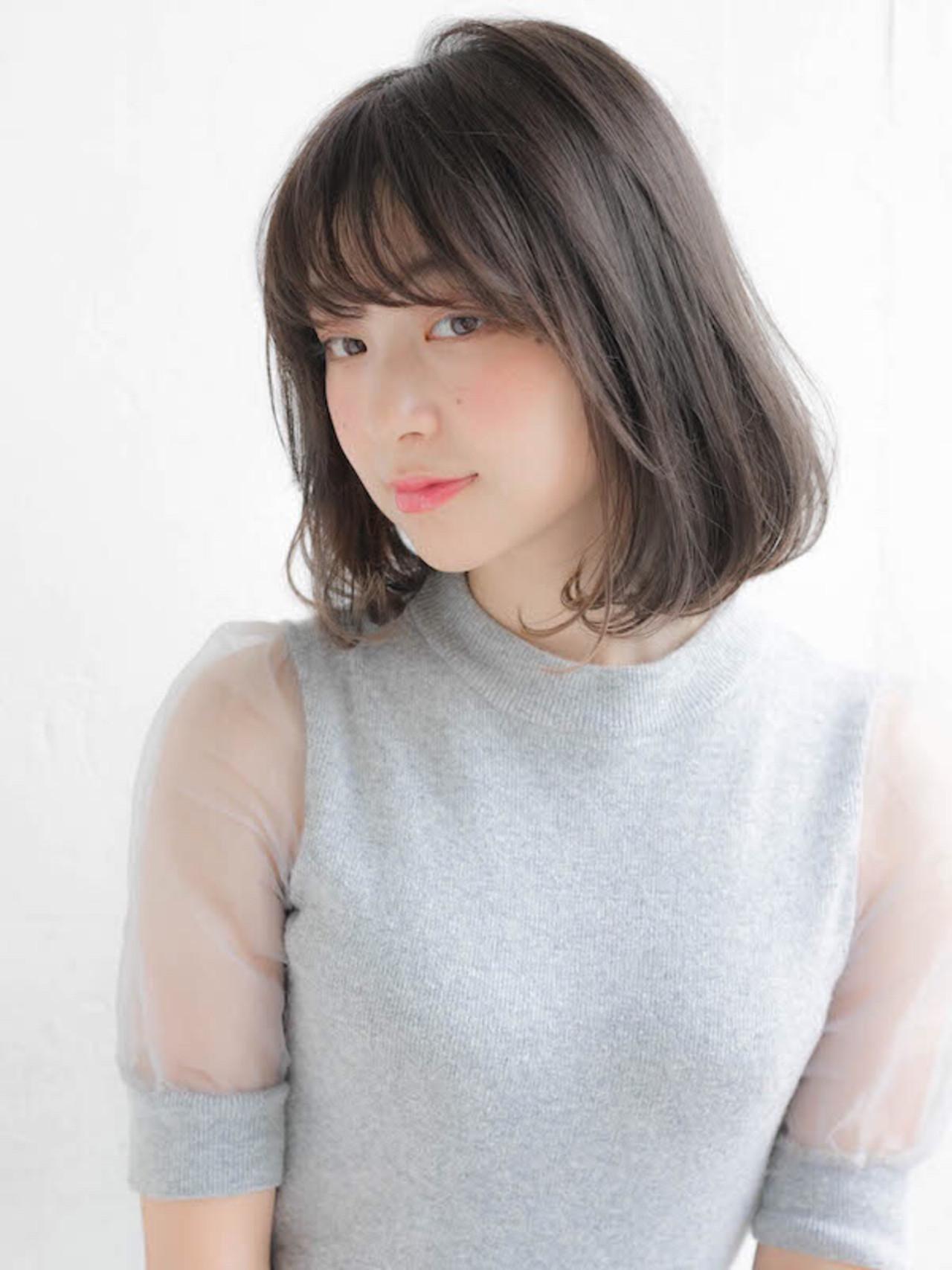 グレー系カラーの魅力は透明感と艶感! 竹澤 優/relian銀座Top stylist
