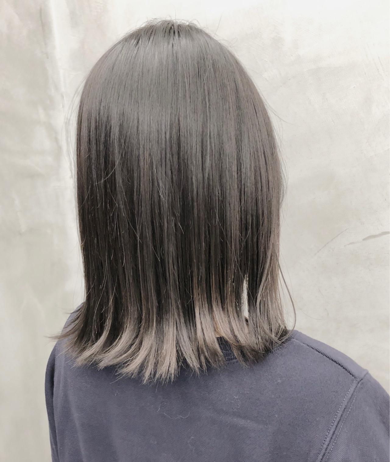 ツヤ髪に♡髪をいたわるブリーチなしグレージュ 徳竹淳一