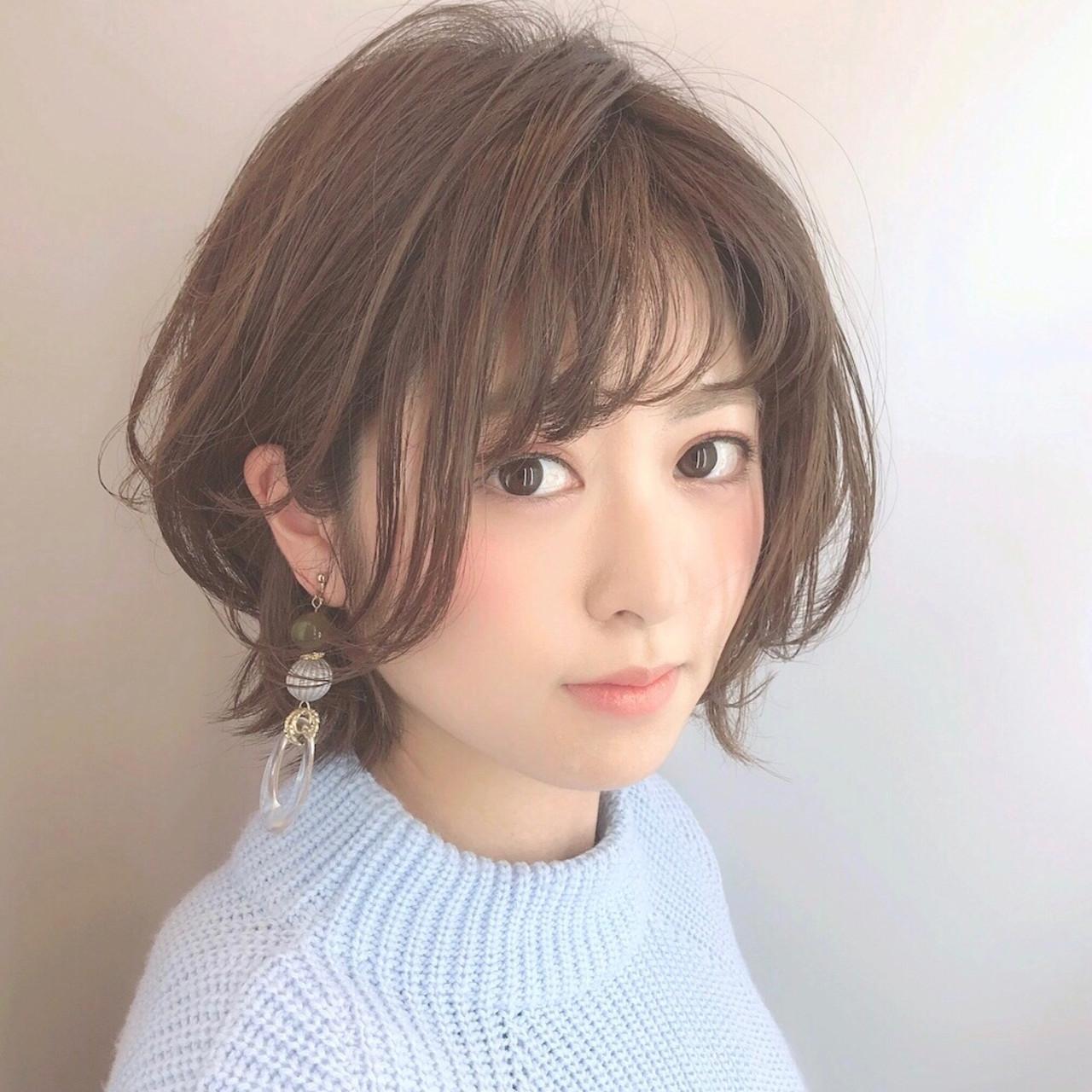 耳かけアレンジで清楚な表情に仕上げて Marie Tagawa 【morio原宿】