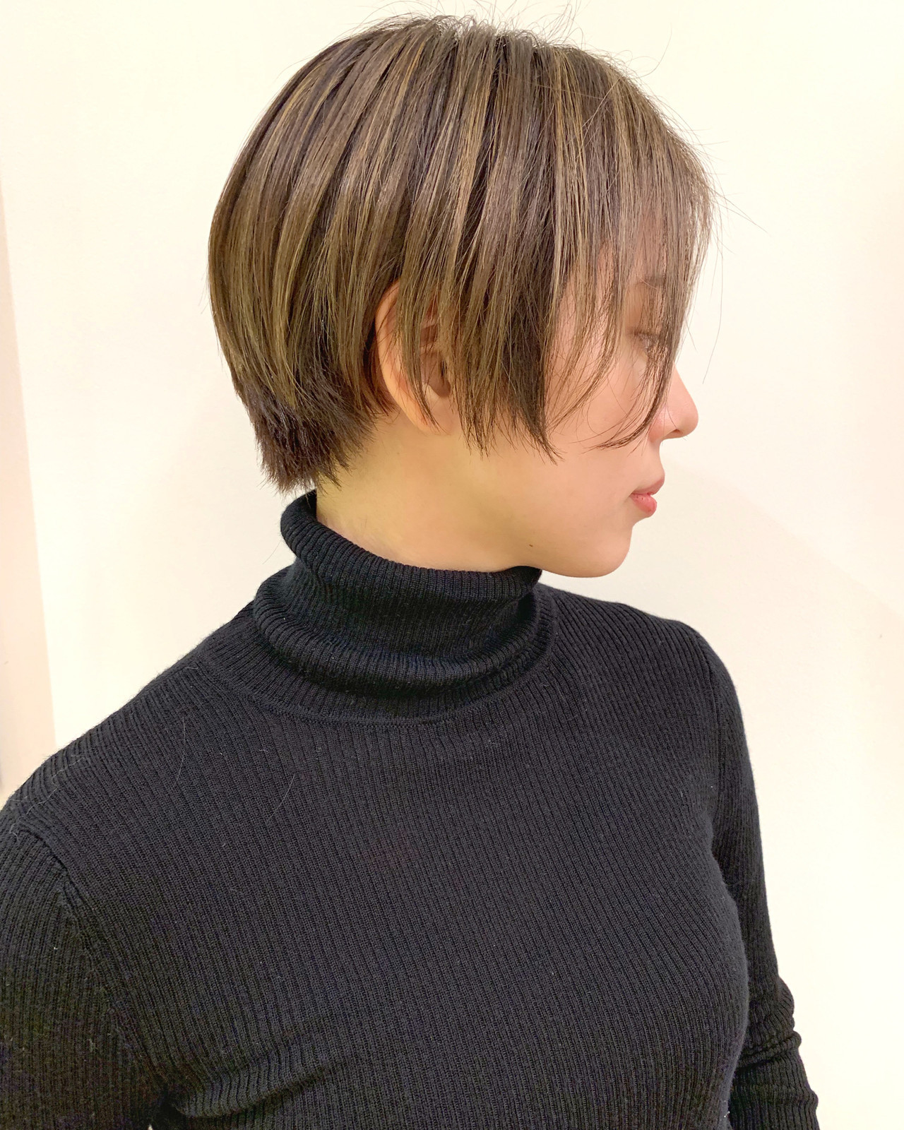 ハイライトのデザインカラーでおしゃれを極める ショートヘア美容師 #ナカイヒロキ